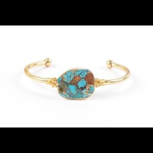 Natural Turquoise Bangle